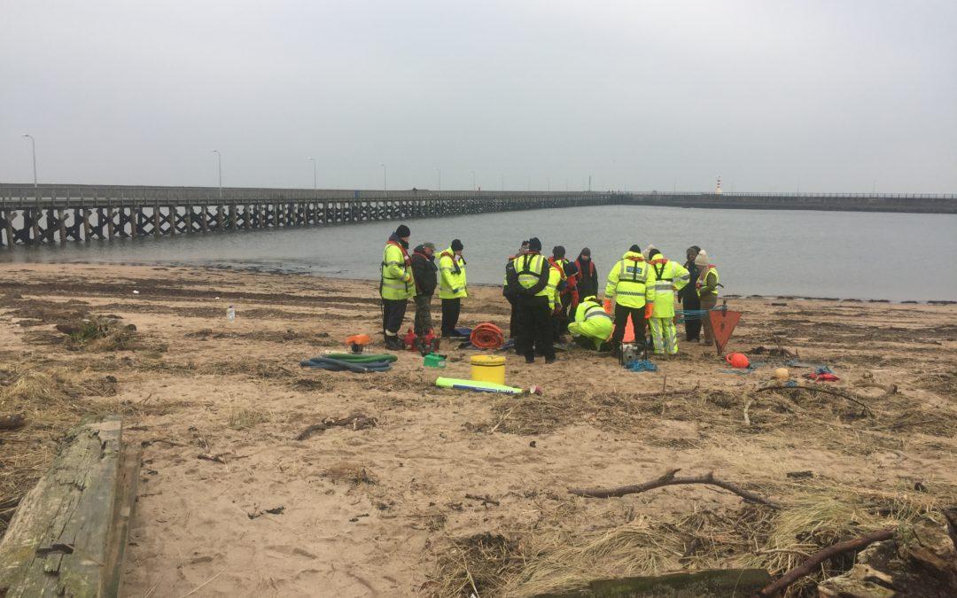 Spill Response Training – Amble