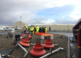 Spill Response Training – Shetland Islands