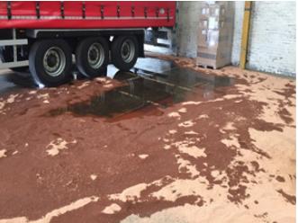 Potassium Hydroxide Spill Case Study
